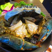 台北市美食 餐廳 火鍋 涮涮鍋 12籃螃蟹粥火鍋 照片