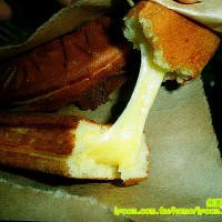 台南市美食 攤販 甜點、糕餅 金蕉條雞蛋糕 照片
