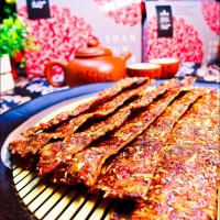 嘉義縣美食 攤販 台式小吃 山豚坊豬肉脆片 照片