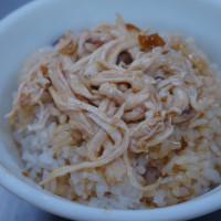 台北市美食 餐廳 中式料理 小吃 梁記雞肉飯 照片