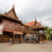 屏東縣美食 餐廳 異國料理 泰式料理 高腳屋 泰國南洋風 照片