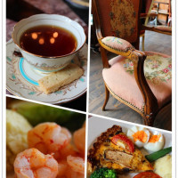 台南市美食 餐廳 咖啡、茶 歐式茶館 岸本絹花 莊園茶館 照片
