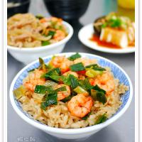 台南市美食 餐廳 中式料理 集鮮蝦仁飯 照片