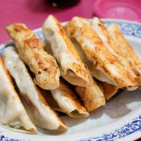 基隆市美食 攤販 台式小吃 三姊妹水餃大王鍋貼 照片