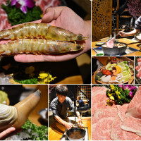 台中市美食 餐廳 異國料理 日式料理 囲炉裏(いろり)暮藏和牛鍋物 照片