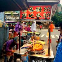 台北市美食 餐廳 中式料理 小吃 劉古早味蔥蛋餅 照片
