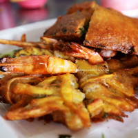 台中市美食 餐廳 中式料理 小吃 古早味蚵嗲.剉冰 照片