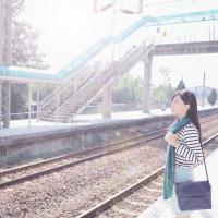苗栗縣休閒旅遊 景點 車站 鐵三角 照片