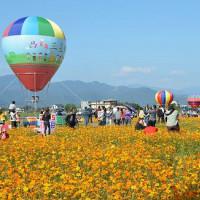 宜蘭縣休閒旅遊 景點 觀光花園 三星鄉花海 照片