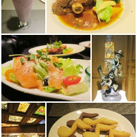 台北市美食 餐廳 異國料理 荒漠甘泉音樂音響主題餐廳 照片
