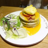 台北市美食 餐廳 咖啡、茶 咖啡館 九州鬆餅咖啡 Kyushu Pancake (台北富錦店) 照片