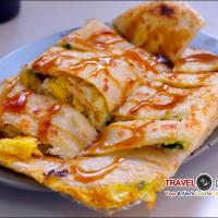 新北市美食 餐廳 中式料理 中式早餐、宵夜 口福早餐店(阿婆鹹蛋餅) 照片