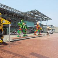 台南市休閒旅遊 景點 景點其他 五大劍獅金鋼 照片