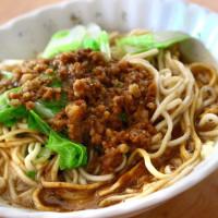 台南市美食 攤販 台式小吃 韋家乾麵 照片