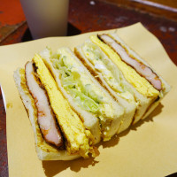 台北市美食 餐廳 中式料理 中式早餐、宵夜 高三孝碳烤吐司 照片