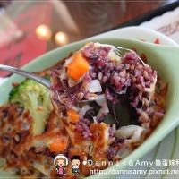 新竹縣美食 餐廳 素食 茆家蔬食驛棧 照片