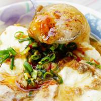 台南市美食 攤販 台式小吃 台南永康大灣三王廟肉粿 照片