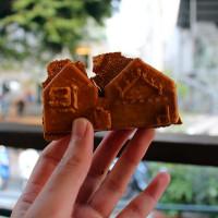 台南市美食 攤販 甜點、糕餅 佳佳西市場 藍晒圖 照片