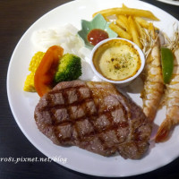 台中市美食 餐廳 異國料理 美式料理 馬克碳烤牛排館 照片