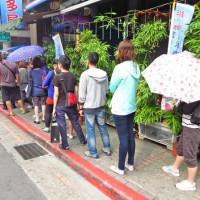 台北市美食 攤販 台式小吃 黃福龍脆皮蔥油餅 照片