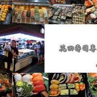 台中市美食 攤販 壽司 花田壽司專賣店 照片