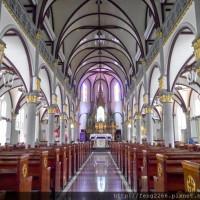 高雄市休閒旅遊 景點 紀念堂 台灣第一天主教堂-高雄玫瑰聖母教堂 照片