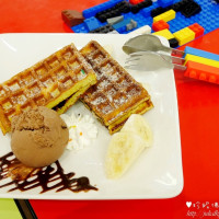 新北市美食 餐廳 咖啡、茶 咖啡館 Brick works樂高積木親子主題餐廳-中和環球店 照片