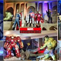 台北市休閒旅遊 景點 展覽館 漫威超級英雄特展 照片