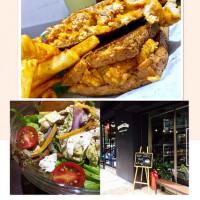 台北市美食 餐廳 異國料理 美式料理 漫高三明治 照片