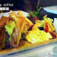 高雄市美食 餐廳 異國料理 多國料理 Caf'e De Aiffel 艾爾咖啡館 照片