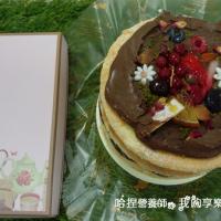 高雄市美食 餐廳 烘焙 蛋糕西點 搭啵s重乳酪蛋糕 照片