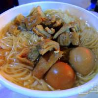 台北市美食 攤販 台式小吃 阿昌麵線臭豆腐 照片