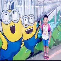 桃園市休閒旅遊 景點 景點其他 小小兵彩繪牆 照片
