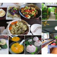 新北市美食 餐廳 素食 石碇文山草堂蔬食館 照片