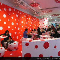 台北市美食 餐廳 咖啡、茶 草間彌生 CAFÉ 照片