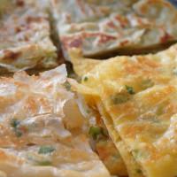 彰化縣美食 攤販 包類、餃類、餅類 上豐蔥抓餅專家 照片