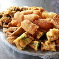 台中市美食 餐廳 中式料理 小吃 南屯廟口炸粿 照片