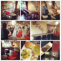 台中市美食 餐廳 咖啡、茶 咖啡館 幕比電影主題咖啡1905-1970 Movie Café 照片