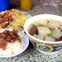 南投縣美食 攤販 台式小吃 青雲街無名麵攤 照片