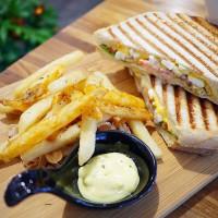 新北市美食 餐廳 異國料理 美式料理 艾格yeggi Brunch 照片