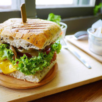 台北市美食 餐廳 咖啡、茶 咖啡、茶其他 綠一點Veggiegrill 照片