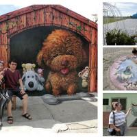 嘉義縣休閒旅遊 景點 景點其他 好美里3D立體彩繪村 照片