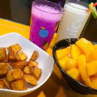 新北市美食 餐廳 飲料、甜品 剉冰、豆花 芋尚鮮刨冰鮮打果汁 照片