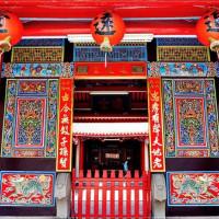 宜蘭縣休閒旅遊 景點 古蹟寺廟 林氏家廟 照片