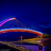 苗栗縣休閒旅遊 景點 海邊港口 苑港橋 照片