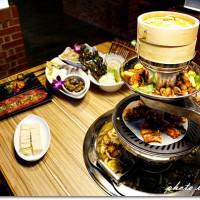 台北市美食 餐廳 火鍋 火烤兩吃 沪里弄堂創意火鍋 照片