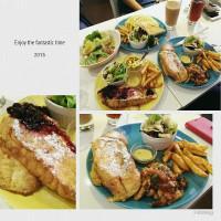 台北市美食 餐廳 異國料理 美式料理 APP cafe 照片