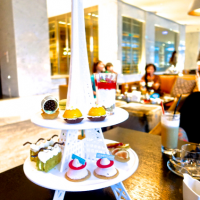 台北市美食 餐廳 咖啡、茶 咖啡館 台北寒舍艾美酒店北緯25 Le Merdien Taipei Latitude 25 照片