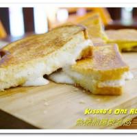 高雄後驛美食.不只爆漿鹹口味,一如浪花般的熱煎棉花糖襲來!──熱樂煎爆漿乳酪三明治