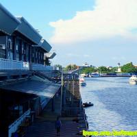 台南市休閒旅遊 景點 海邊港口 碧海風景碼頭 照片
